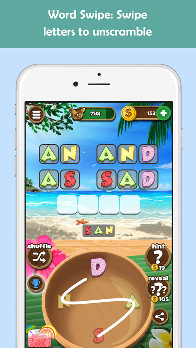 Word Beach: Fun Spelling Games