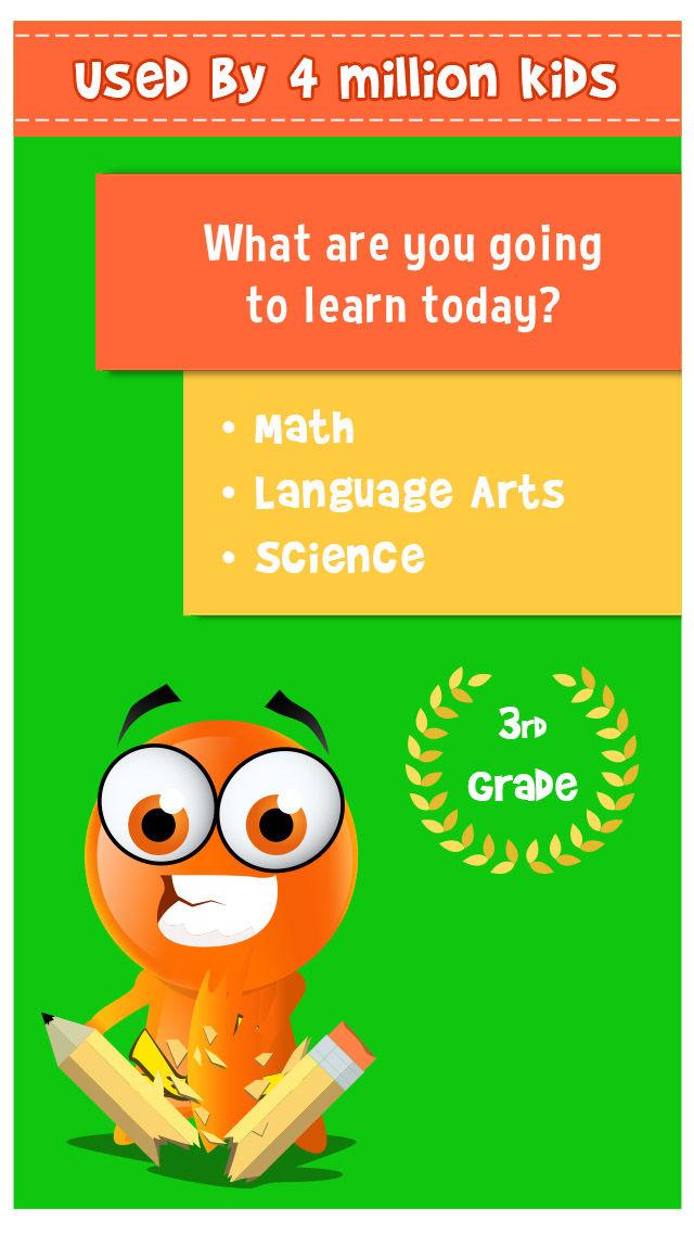 iTooch 3rd Grade App | Math, Language Arts and Science