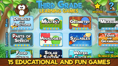 Third Grade Learning Games App - 1