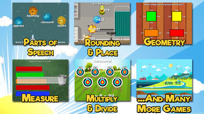 Third Grade Learning Games App - 2