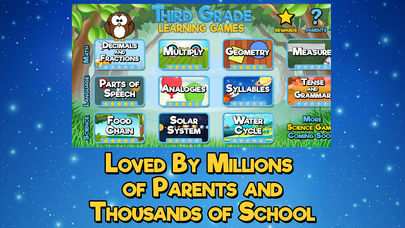 Third Grade Learning Games App - 5