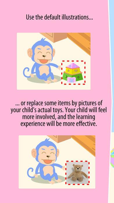 Aki the monkey teaches values - Sharing App - 3