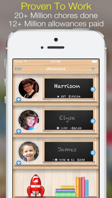 iAllowance - Chores & Allowance App - 1