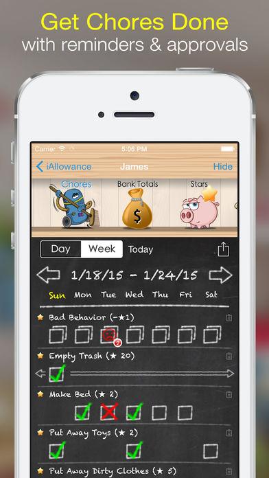 iAllowance - Chores & Allowance App - 2