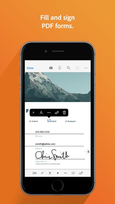 Adobe Acrobat Reader for PDF App - 3