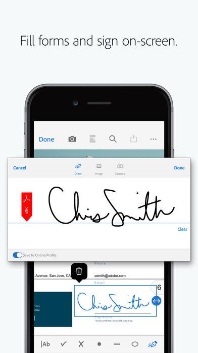 Adobe Acrobat Reader for PDF App - 9