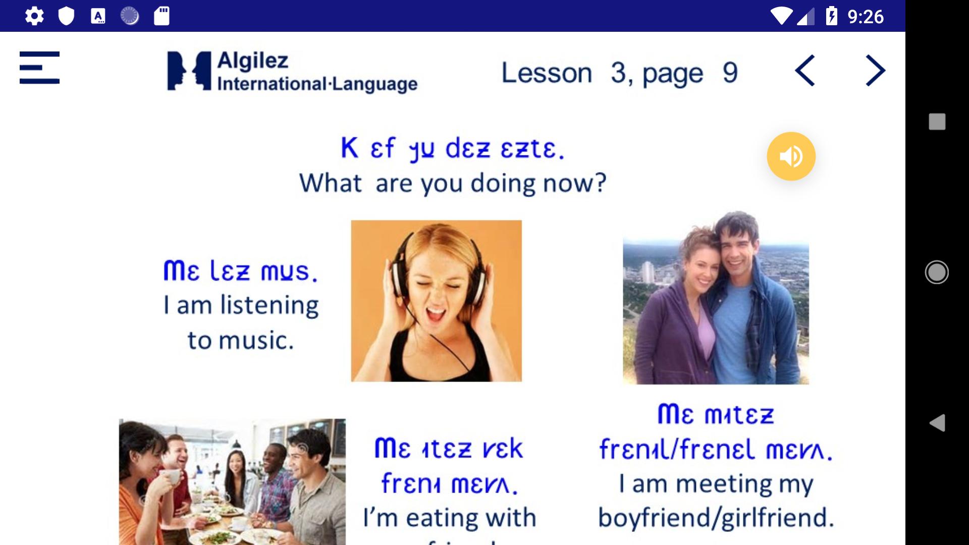 Algilez Beginners App - 4