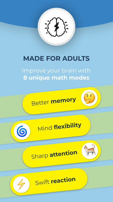 Math Brain Booster Games