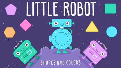 Little Robot Shapes and Colors App - 1