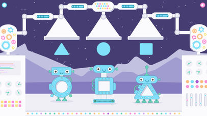 Little Robot Shapes and Colors App - 7