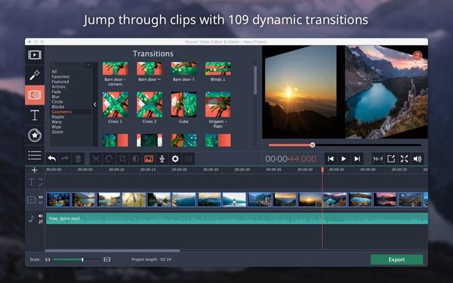Movavi Video Editor App - 3