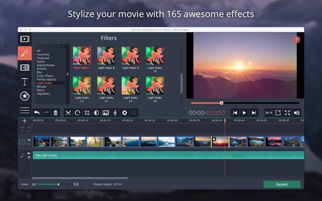 Movavi Video Editor App - 4