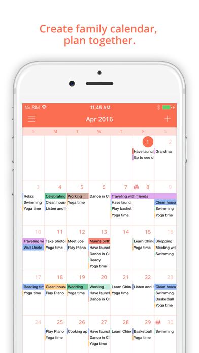 FamCal: Shared Family Calendar