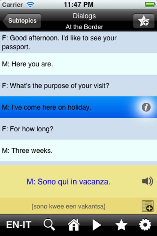 EasyTalk Learn Italian-8