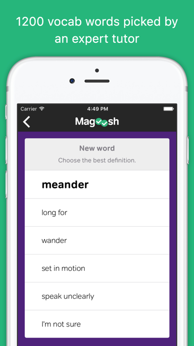 Vocabulary Builder by Magoosh