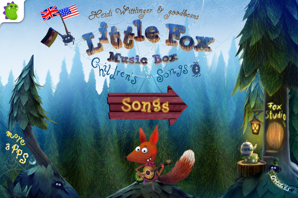 Little Fox Music Box – Kids songs – Sing along App - 1