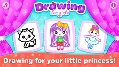 Kids Drawing Games for Girls
