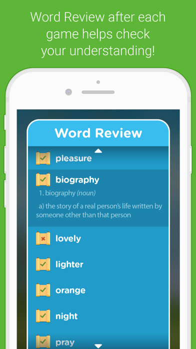 Vocab Victor English Word Game