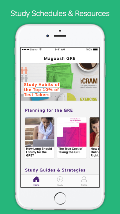 GRE Prep & Practice by Magoosh