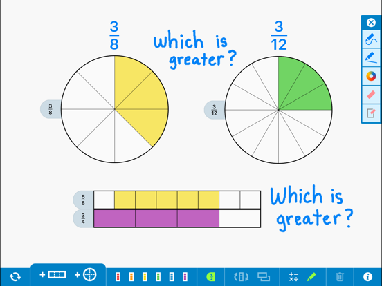 Fractions, by the Math Learning Center
