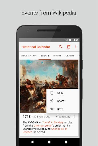 Historical Calendar