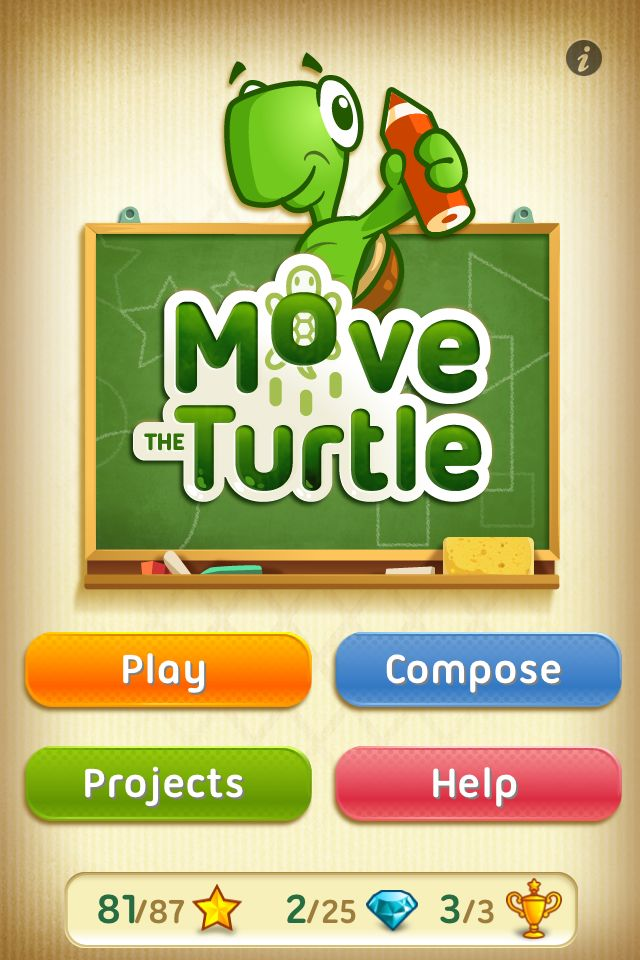 Move the Turtle. Programming for kids App - 2
