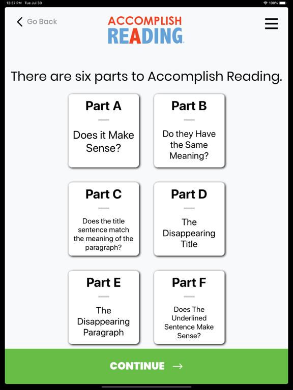 Accomplish Reading