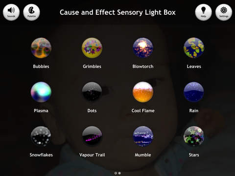 Cause and Effect Sensory Light Box