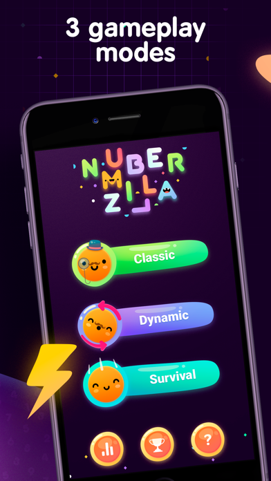Numberzilla - Number Math Game