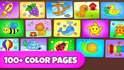 Coloring Games: Painting, Glow
