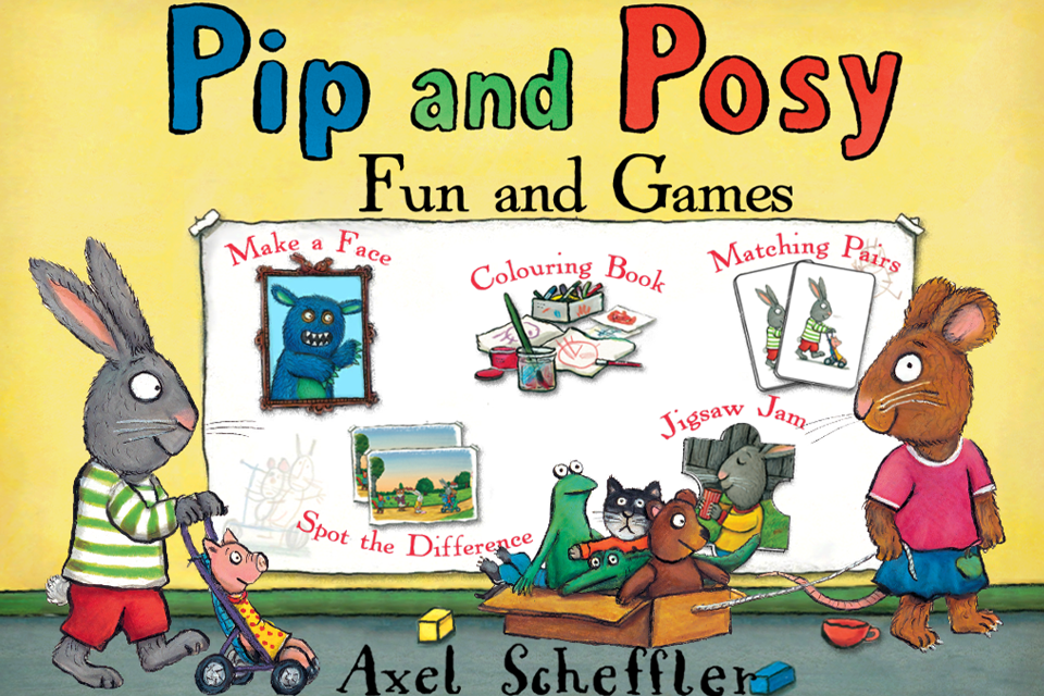 Pip and Posy: Fun and Games-1