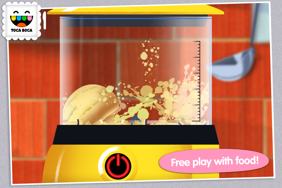Toca Kitchen App - 2