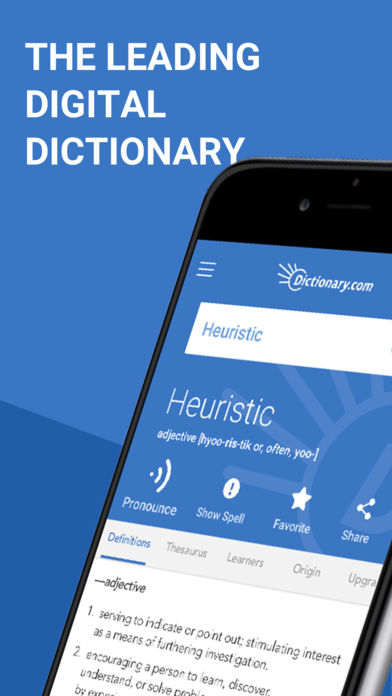 Dictionary.com Pro Learn Words App - 1