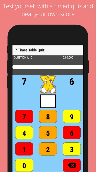 Times Tables Challenge - Quiz!