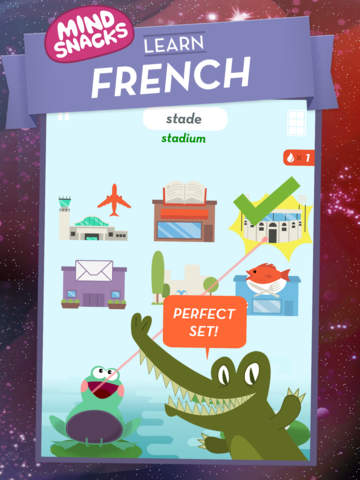 Learn French by MindSnacks