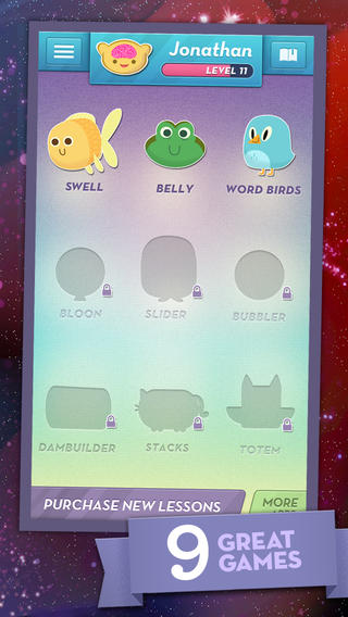 MindSnacks: Game-Based Language Learning on iOS