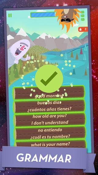 Learn Spanish - MindSnacks App - 4
