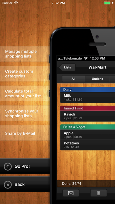 ShopList (Grocery List)