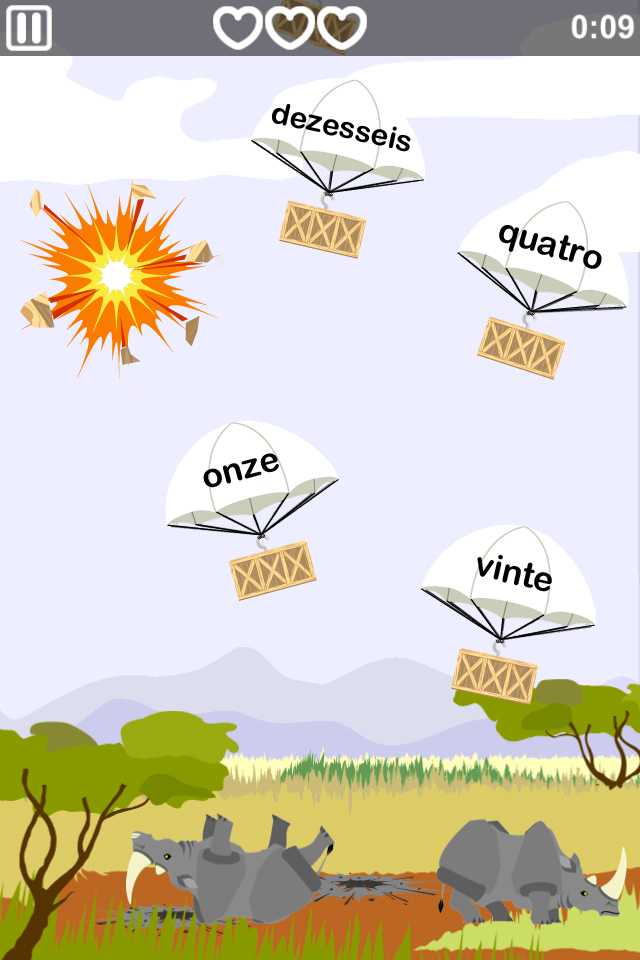 Learn Portuguese - MindSnacks