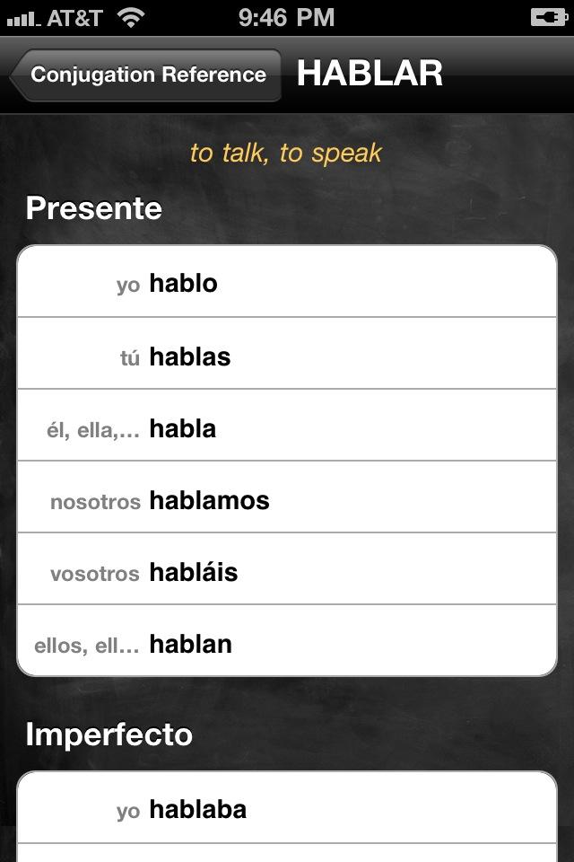 Conjugation Nation Spanish App - 8