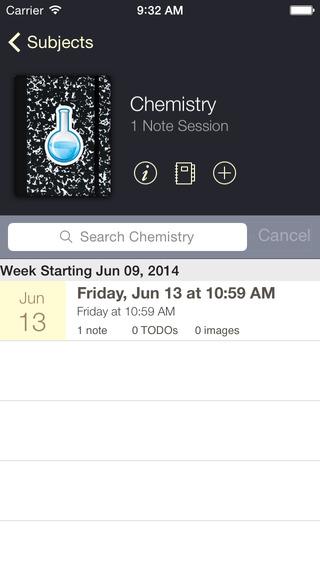 CourseNotes App - 2