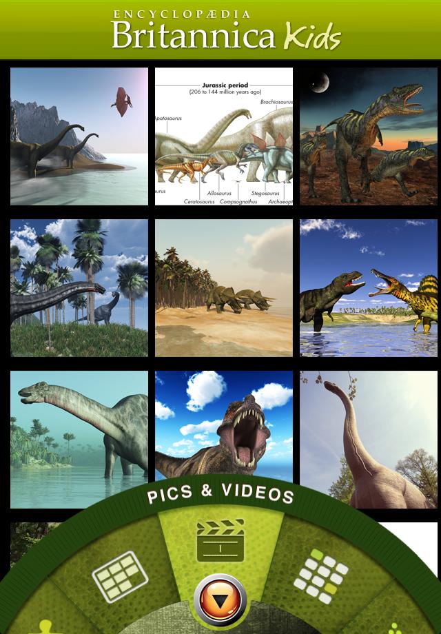 Britannica Kids - Dinosaurs App - 5