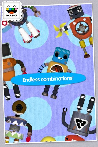 Toca Robot Lab App - 2
