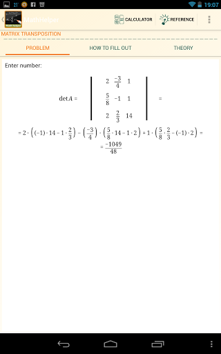 Math Helper - Algebra Calculus-3