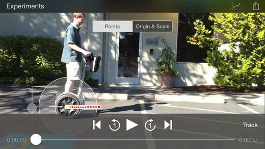 Vernier Video Physics App - 3