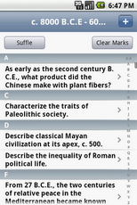 AP World History Flashcards App - 2