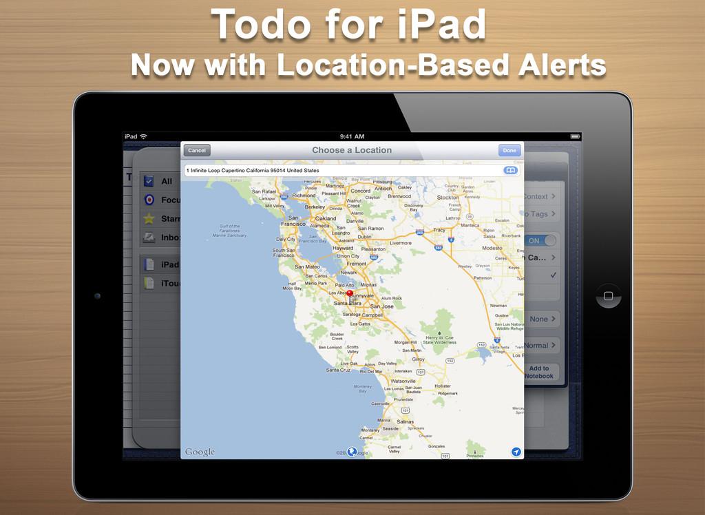 Todo for iPad-1