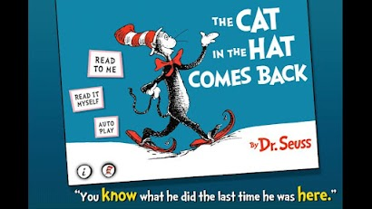 The Cat in the Hat Comes Back App - 2