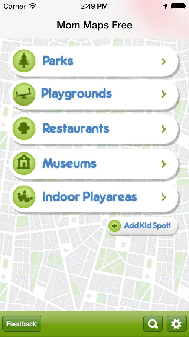 Mom Maps App - 1