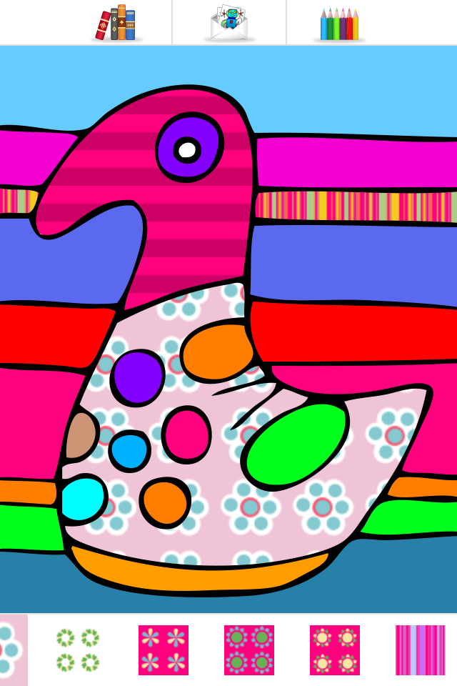 Colorama - Kids Coloring Book App - 2